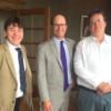 Prof. Nicholas Cole & Prof. Peter Claus Visit Boston
