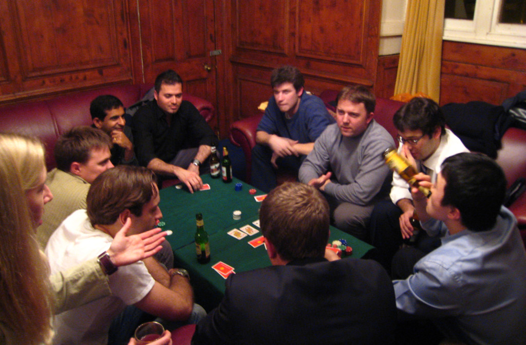 """LA Poker Night"" in the MCR"