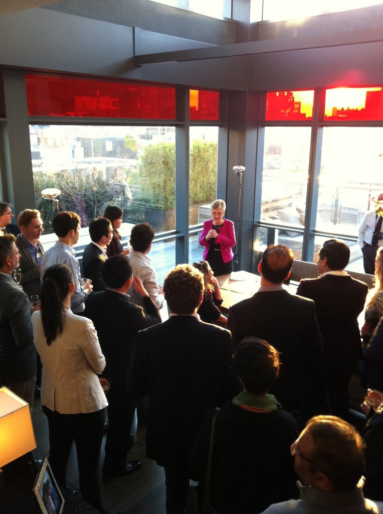 Pembrokians Come To Welcome Dame Brindley