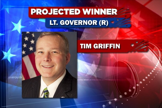Rep. Tim Griffin '90 Wins Primary