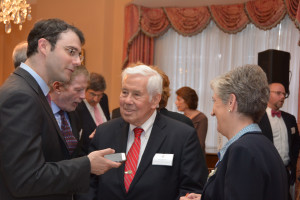 Marc Mezvinsky, Dick Lugar and Dame Lynne