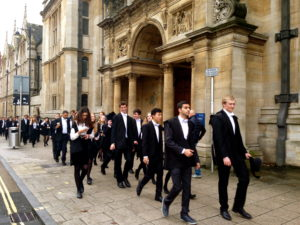Oxford exams w students