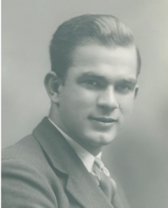 20 Year-old Bill Fulbright as a Pembroke first year, 1925